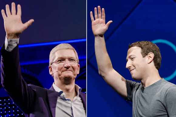 Mark Zuckerberg says Apple is now one of Facebook's biggest competitors