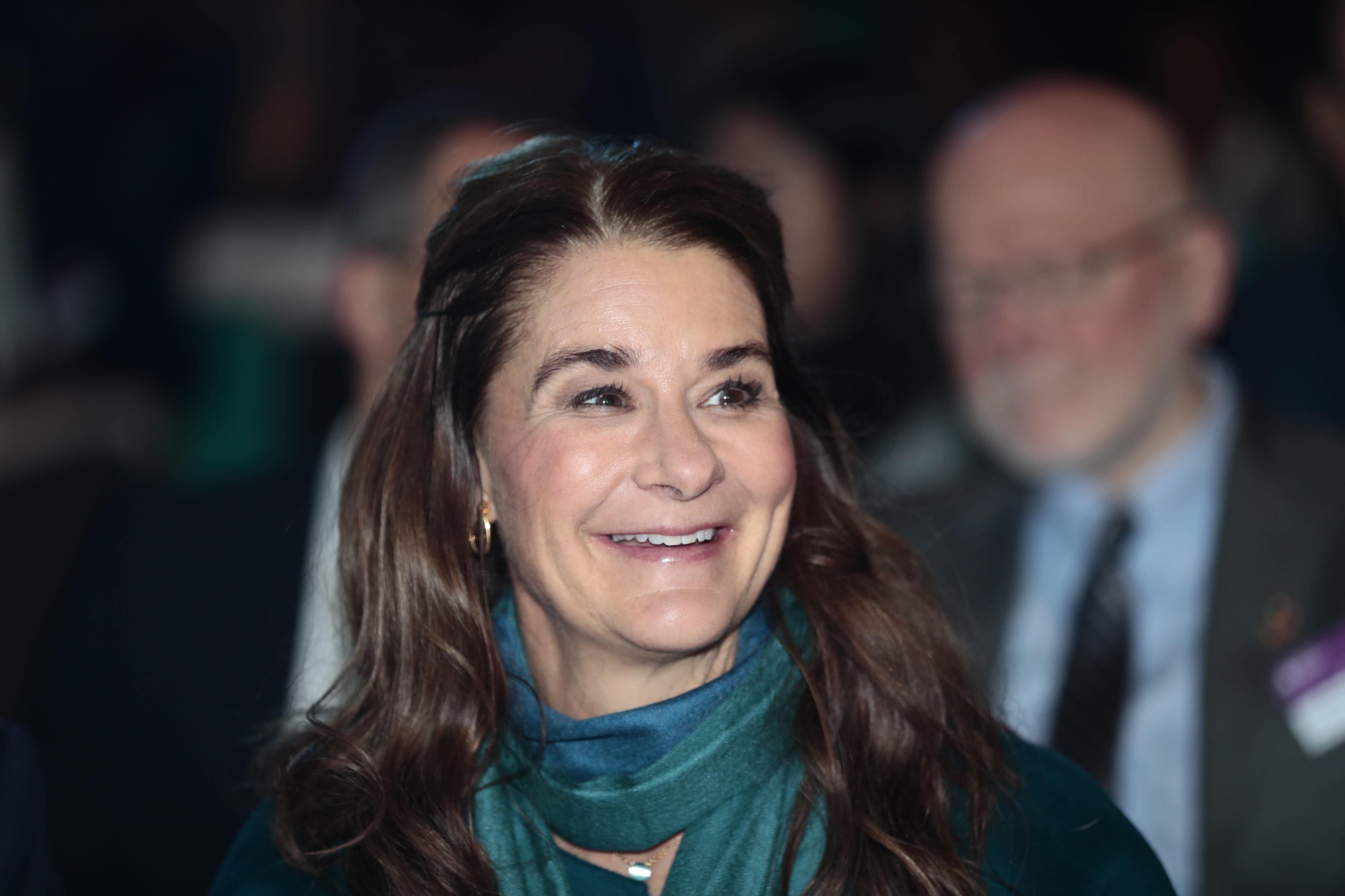 menjadi diri sendiri, nasehat Melinda Gates untuk para perempuan muda di dunia.