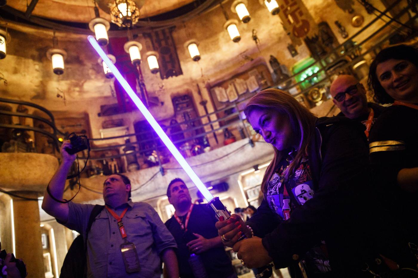 you can build a 200 lightsaber at disneyland s new star wars galaxy s edge here s what you get [ 1400 x 950 Pixel ]