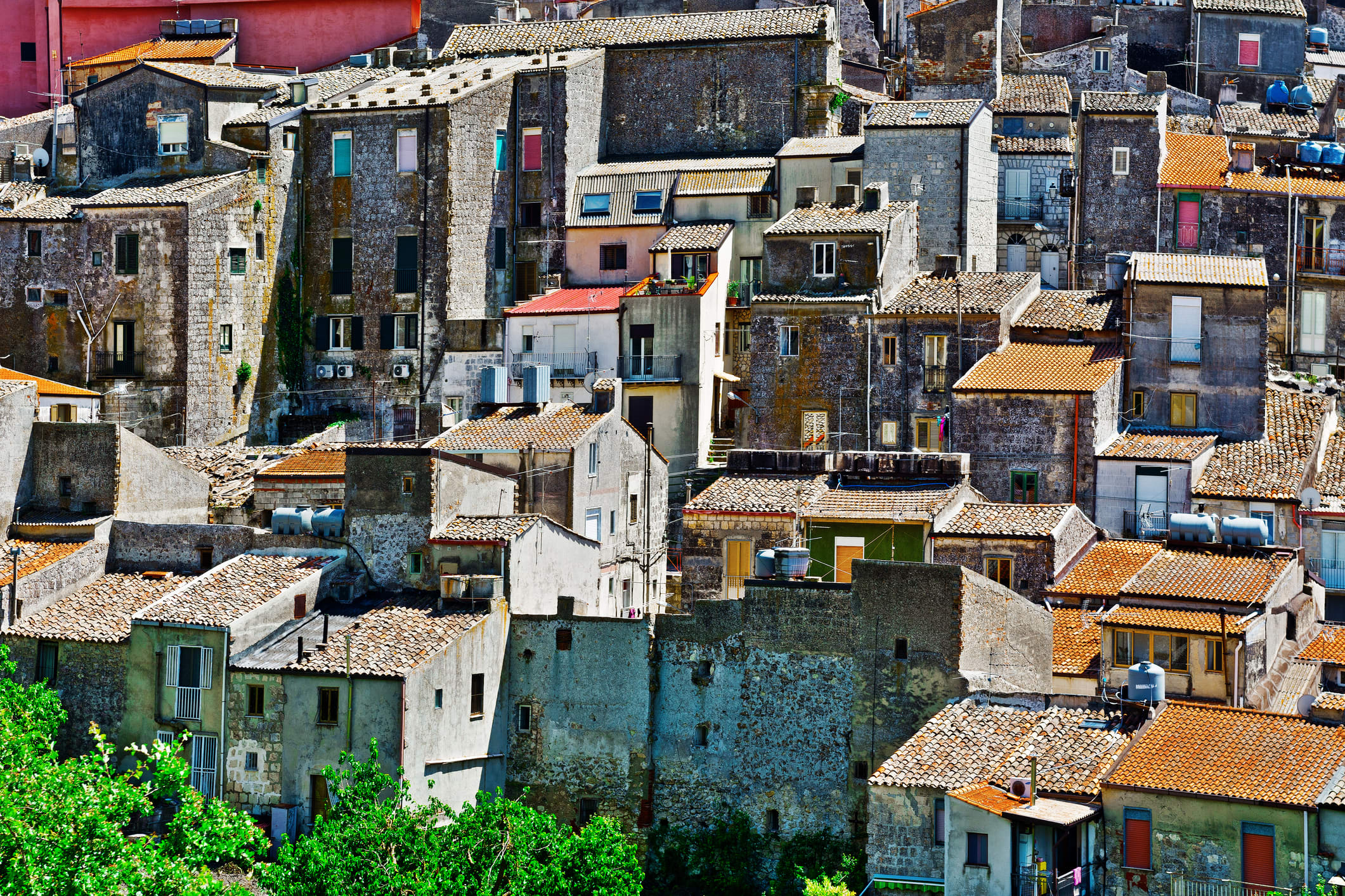 Town Of Mussomeli In Sicily Italy Selling Houses For 1 Dollar
