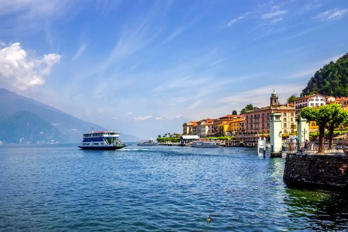 GI: Italy, Lombardy, Lake Como, Bellagio
