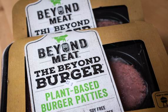 beyond meat stock briefly