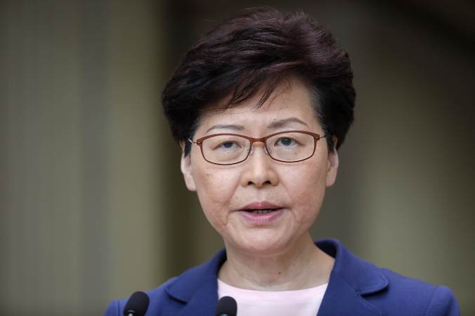 GP: Hong Kong Chief Executive Carrie Lam 190709