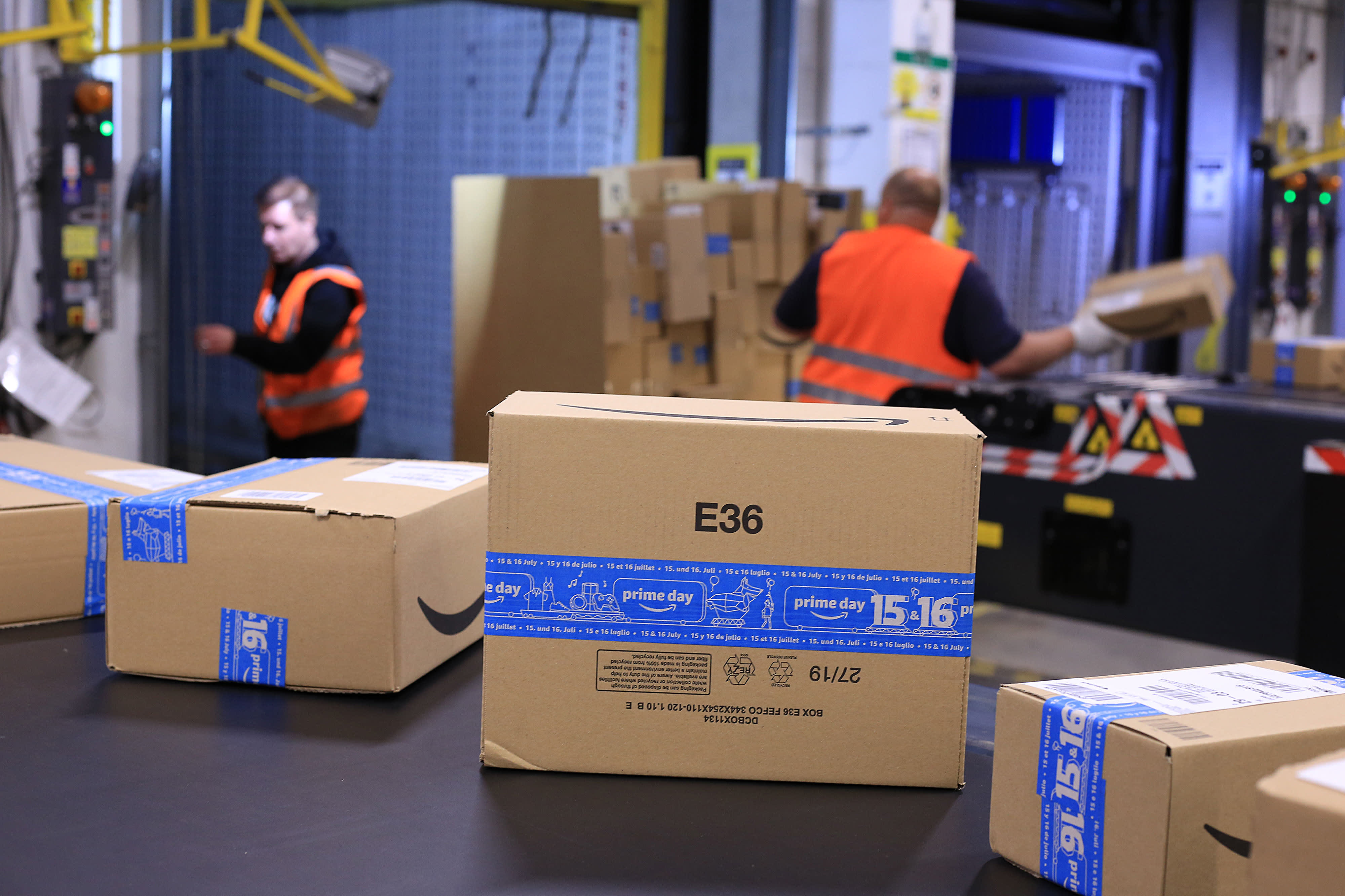 Amazon says this year's Prime Day surpassed Black Friday and Cyber Monday combined