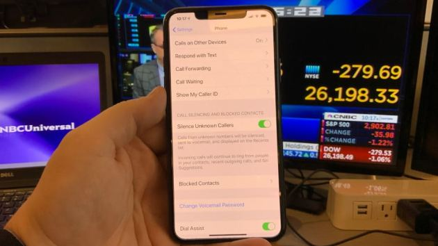CNBC Tech: Silence Unknown callers