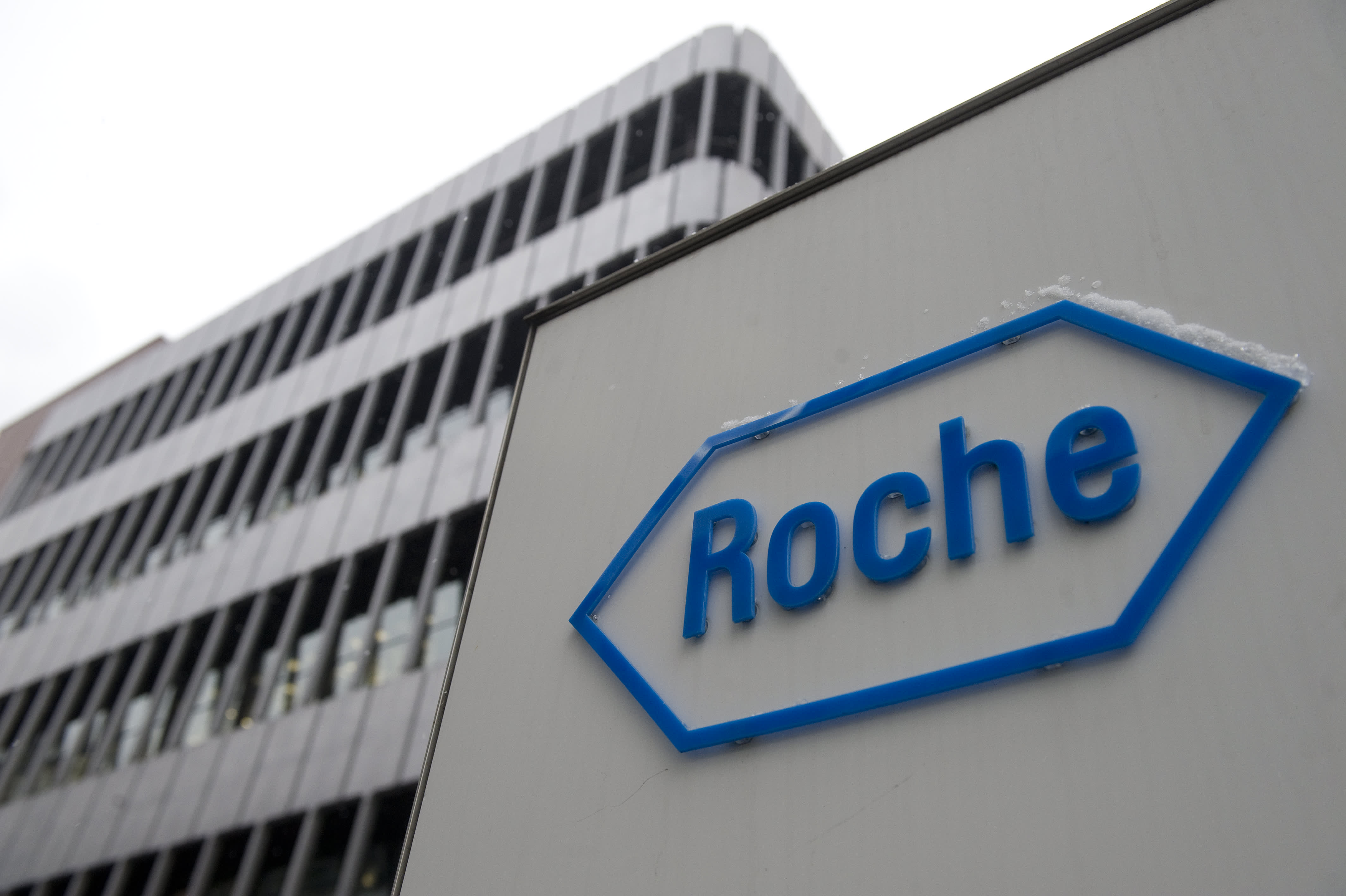 Shares of Swiss drugmaker Roche up 11% after FDA approval