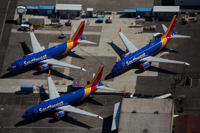 Southwest Airlines upsizes order for smallest Boeing 737 Max order by 34 planes