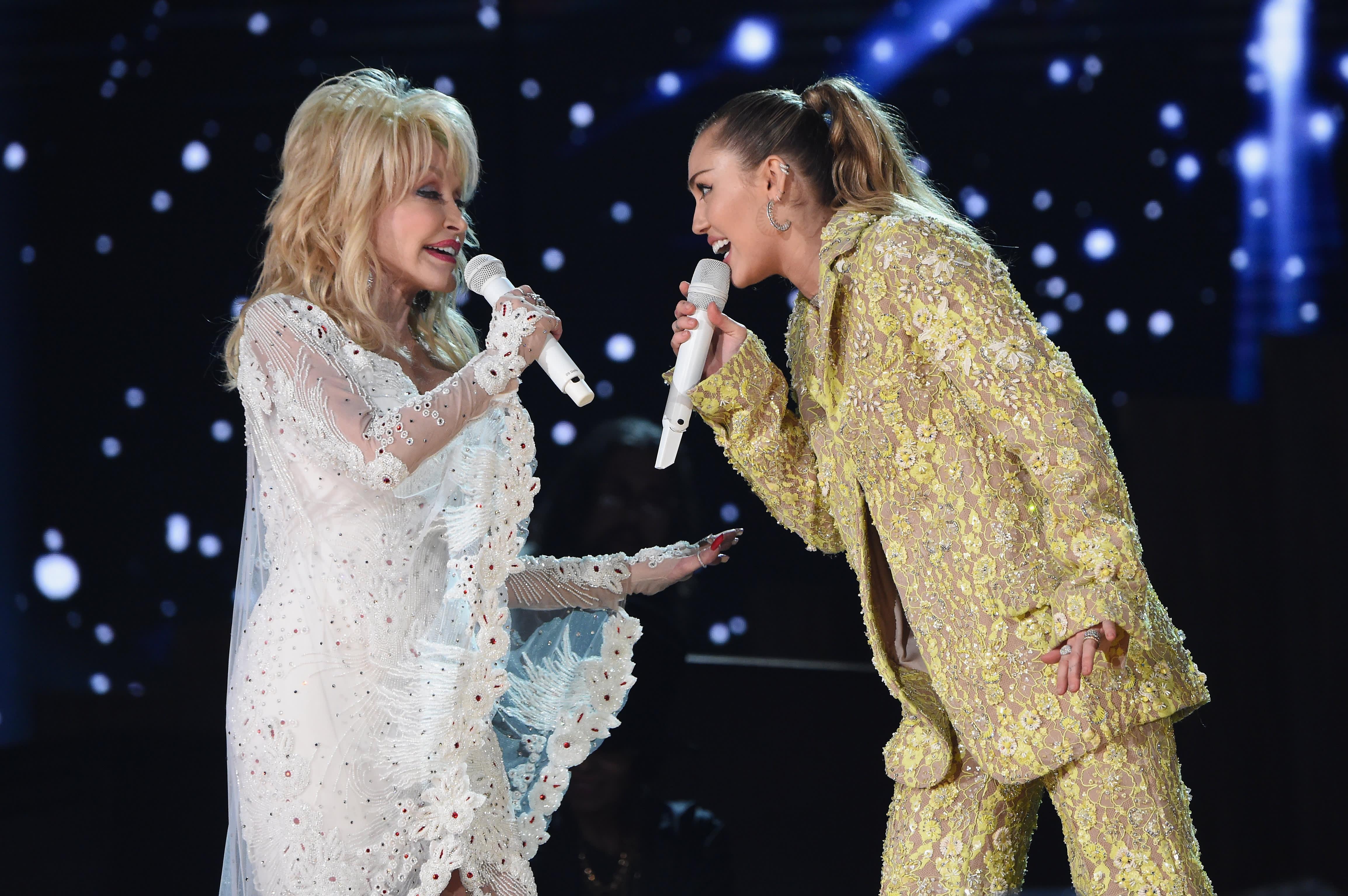 GP: Dolly Parton Miley Cyrus