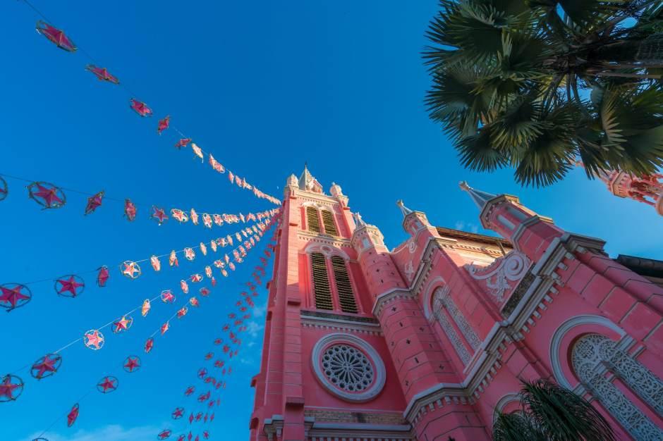 GP Tan Dinh church in Ho Chi Minh City, Vietnam