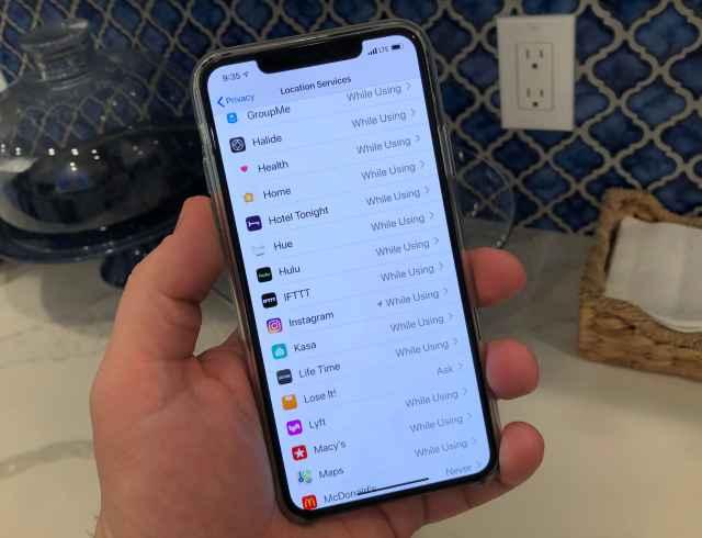 CNBC Tech: app di localizzazione per iPhone