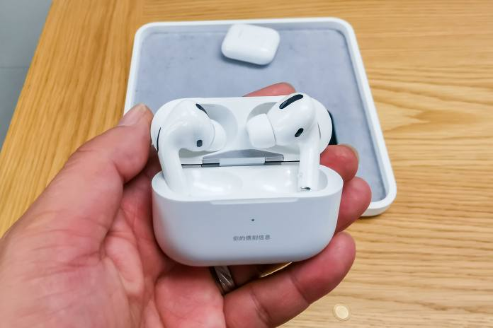 AirPods Pro at an Apple store
