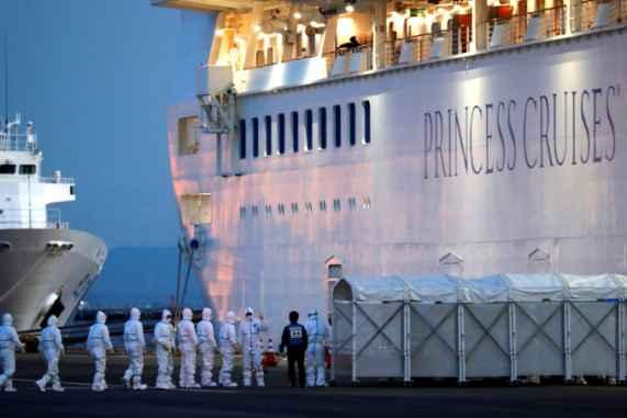 As coronavirus spreads on ship, Princess Cruises offers crew two ...