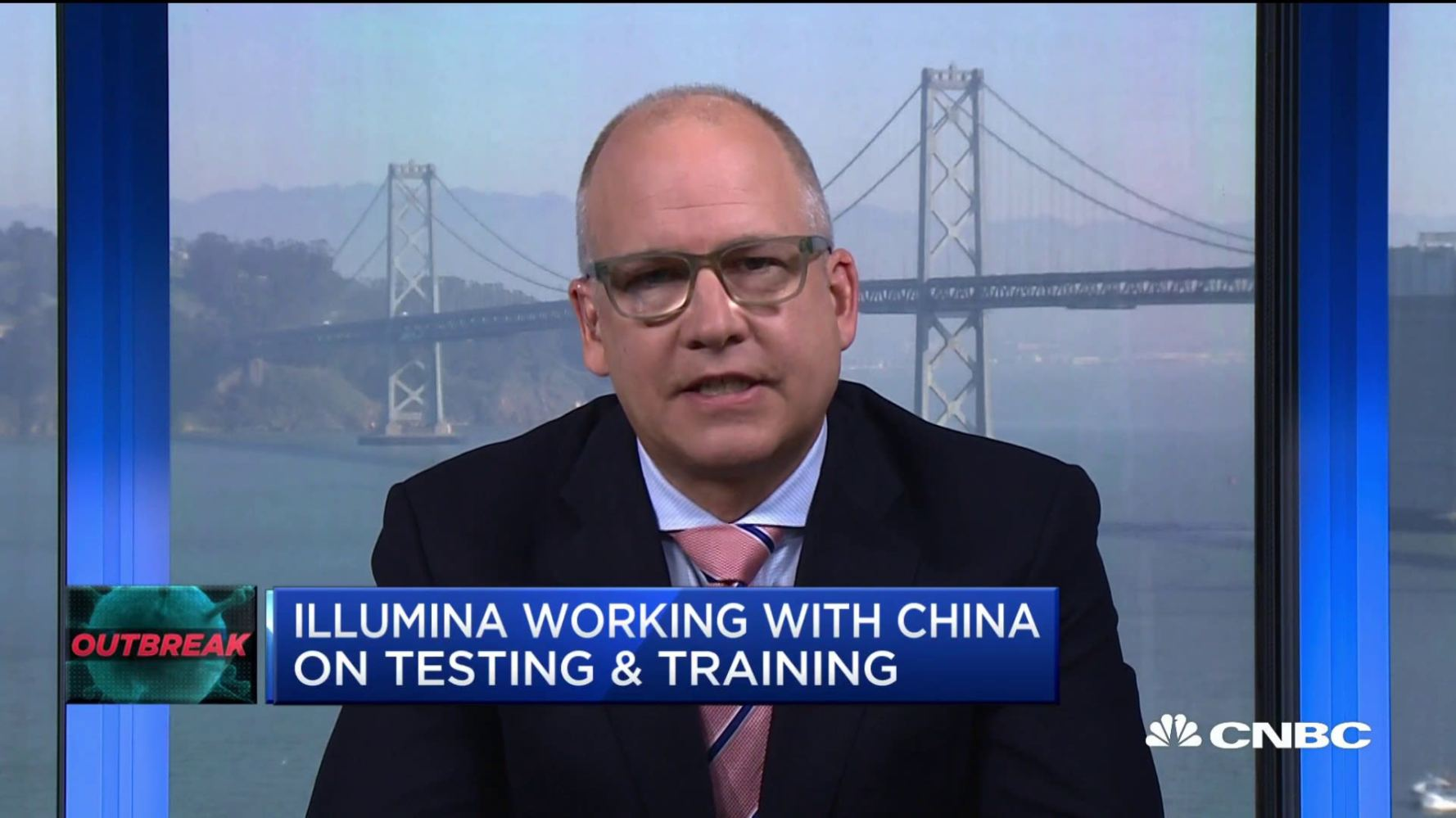 Illumina CMO on working with China on coronavirus cure