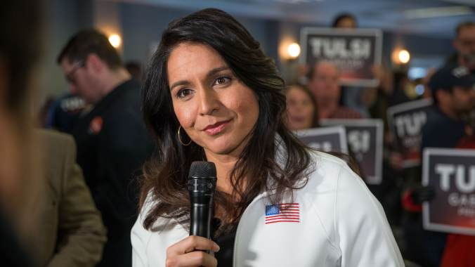 GP: NH Primary: Presidential Candidate Tulsi Gabbard Holds Town Hall In Portsmouth, NH