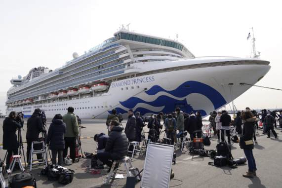 As coronavirus tears through ship, vulnerable passengers evacuated