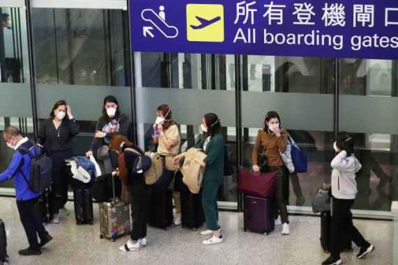 Coronavirus: Air travel demand set to decline for first time since ...