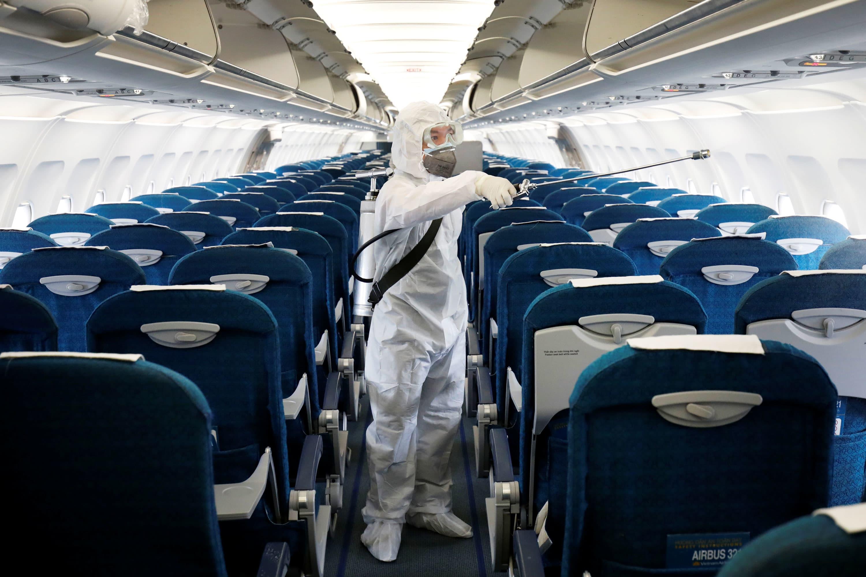 Coronavirus flight cancellations top 200,000, sending jet-fuel lower