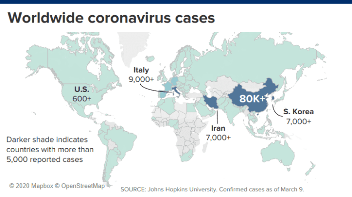 US coronavirus death toll rises to 9, mortality rate of COVID-19 rises