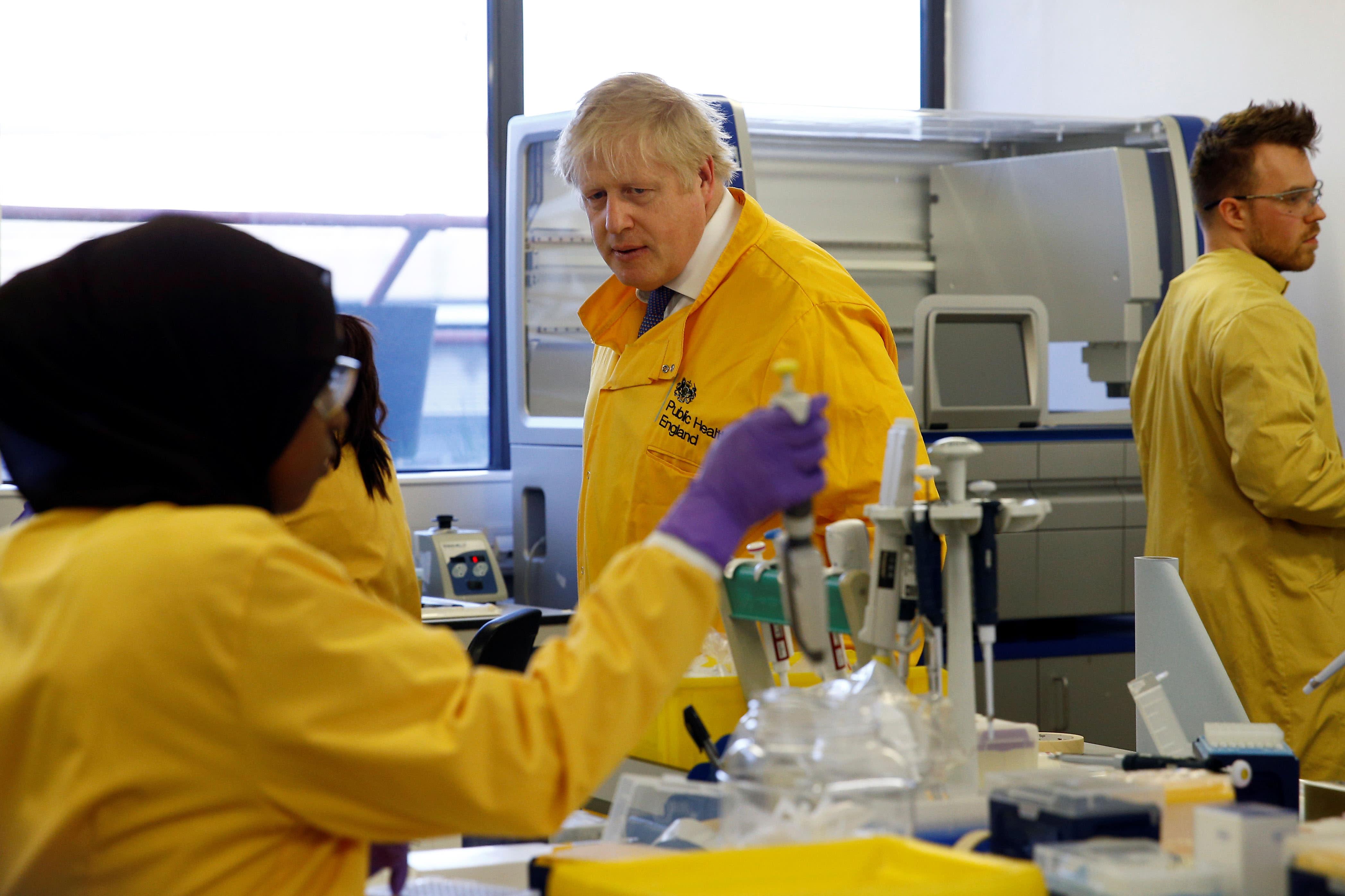 Coronavirus live updates: UK warns fifth of workforce could be off ...