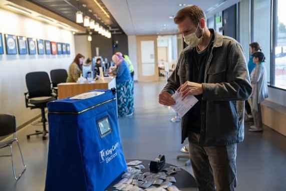 Coronavirus: Washington state Democratic primary voters urged not ...