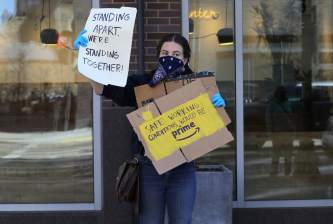 How Amazon keeps a close eye on employee activism to head off unions
