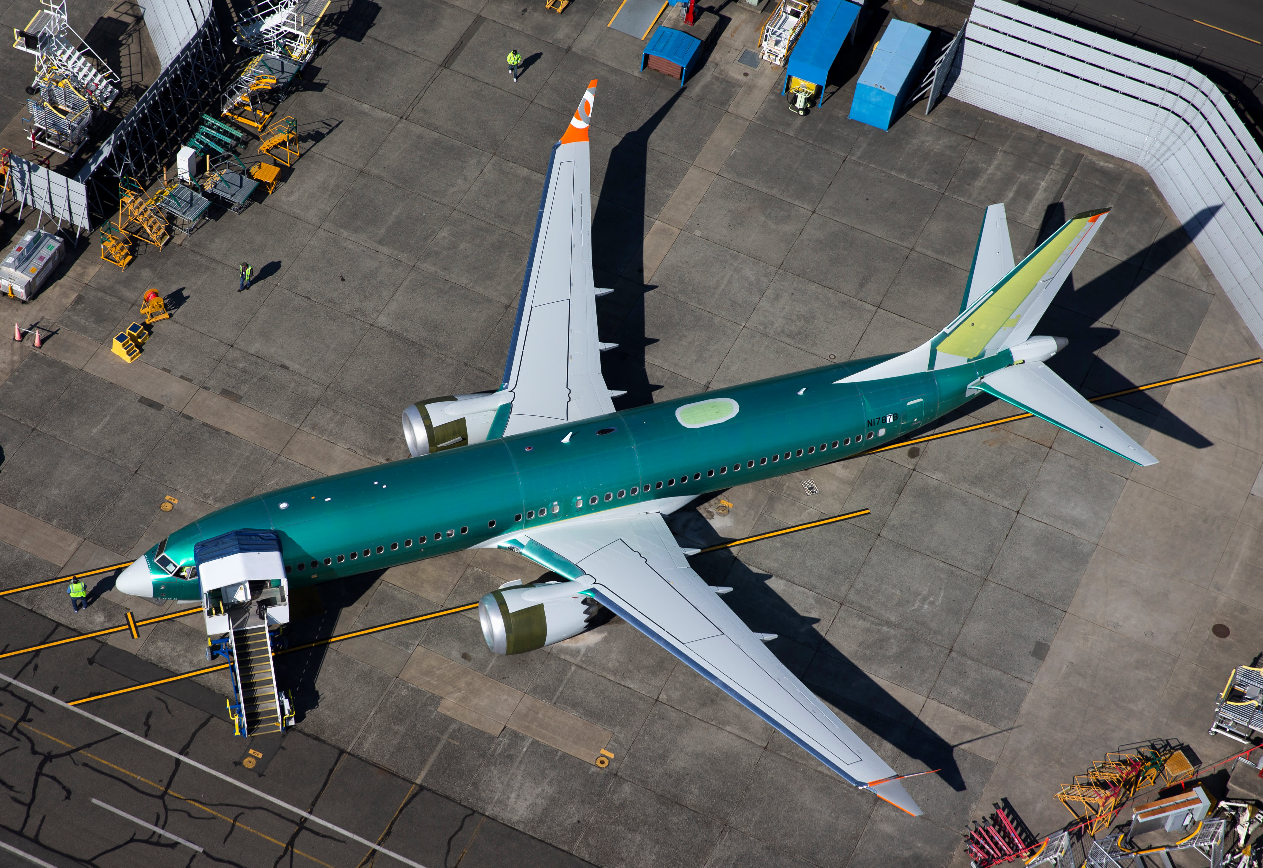 Boeing pauses 737 Max deliveries due to electrical issue, warns of 'light' April handovers