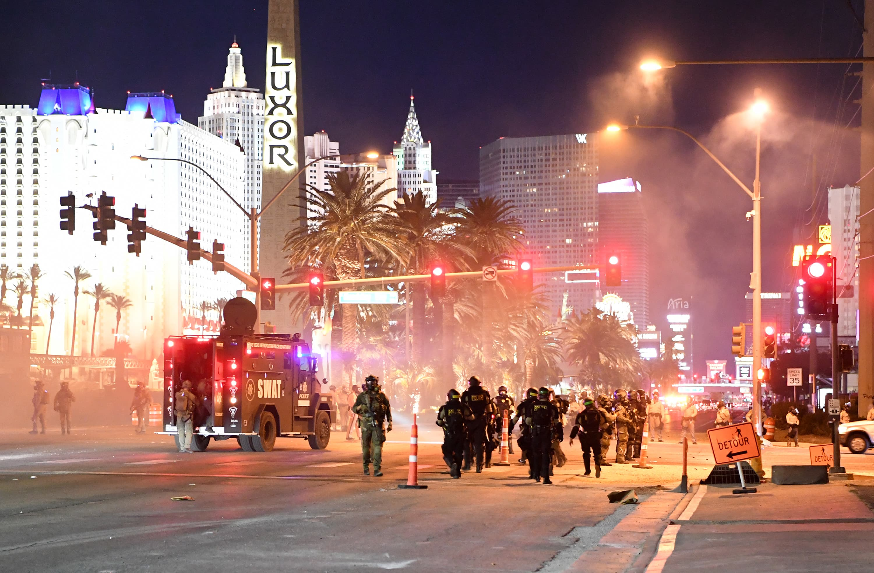Protest may derail what was expected with the strong relaunch of Las Vegas casinos