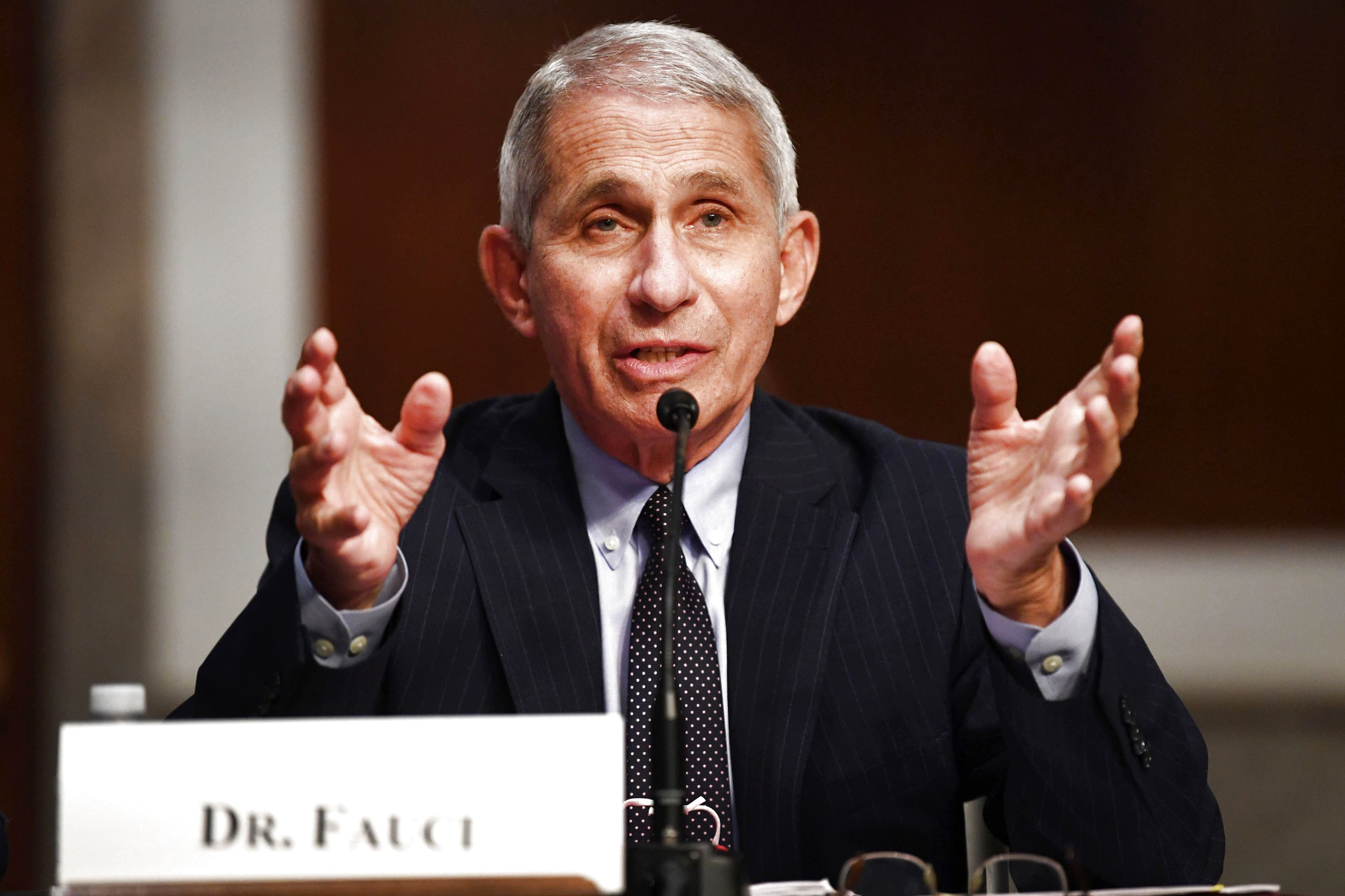 Dr. Fauci warns of a 'whole lot of pain' due to coronavirus pandemic in the coming months