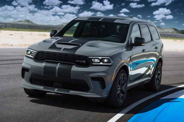 Dodge unveils Durango Hellcat as 'most powerful SUV ever'