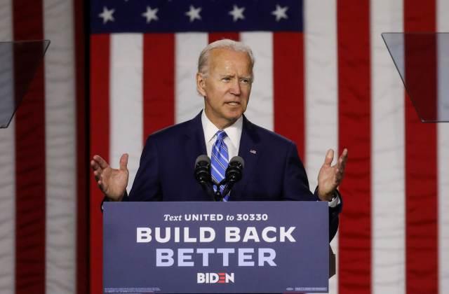 Joe Biden unveils green jobs and infrastructure plan during 2020 ...