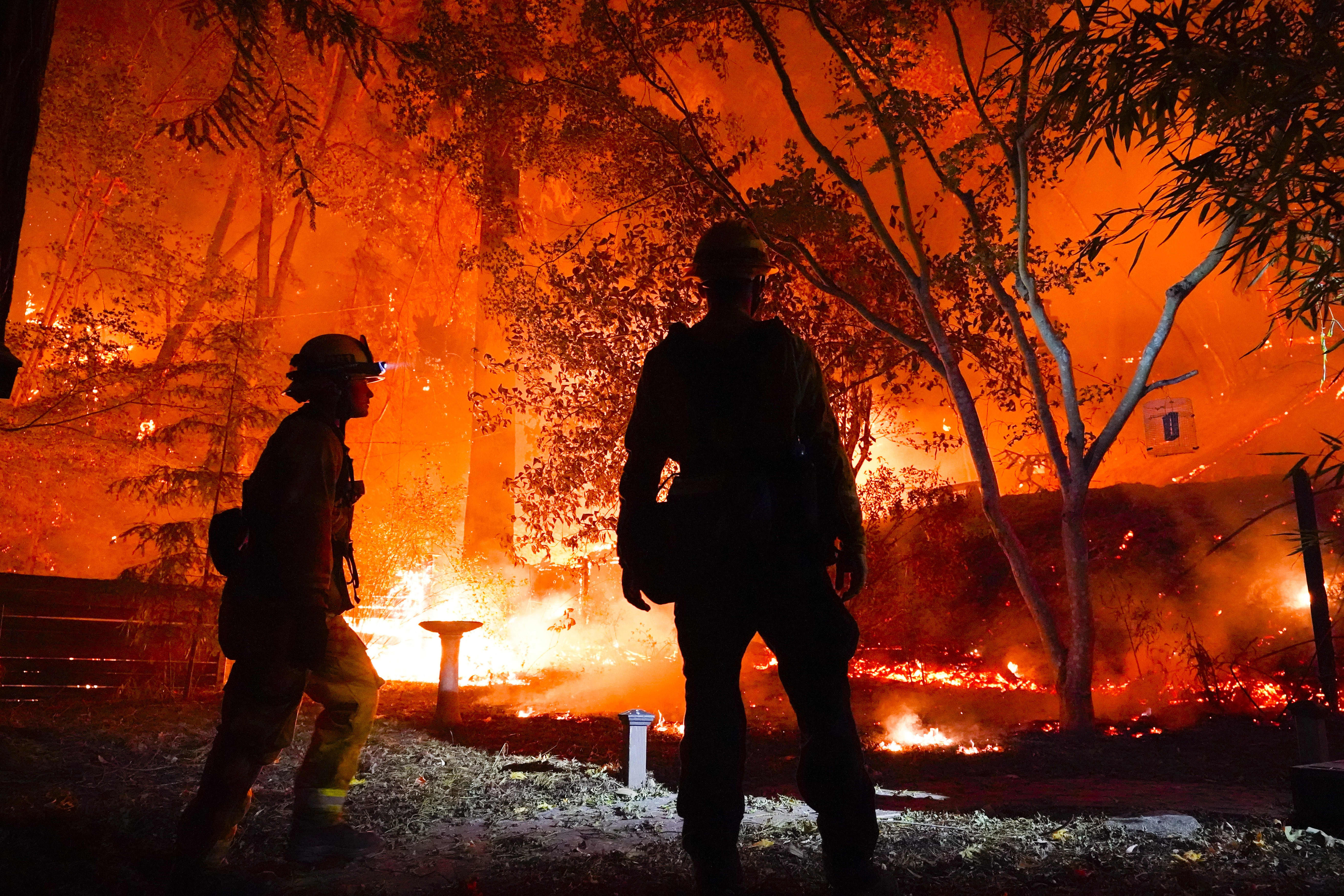 California battles more than 500 fires with no end in sight as emergency response stretched thin