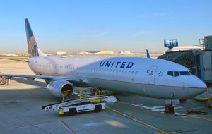 United Airlines will fall 8% as the recovery of business and international travel is still far away
