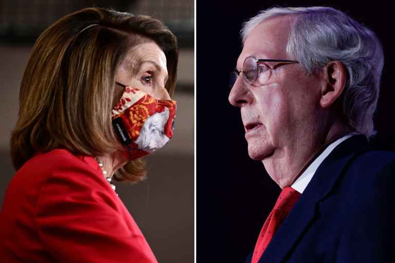 McConnell and Pelosi push for relief bill
