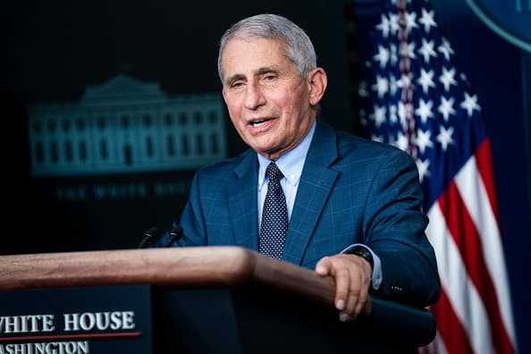 Fauci says U.S. should see a turning point in the pandemic 'within a few weeks'