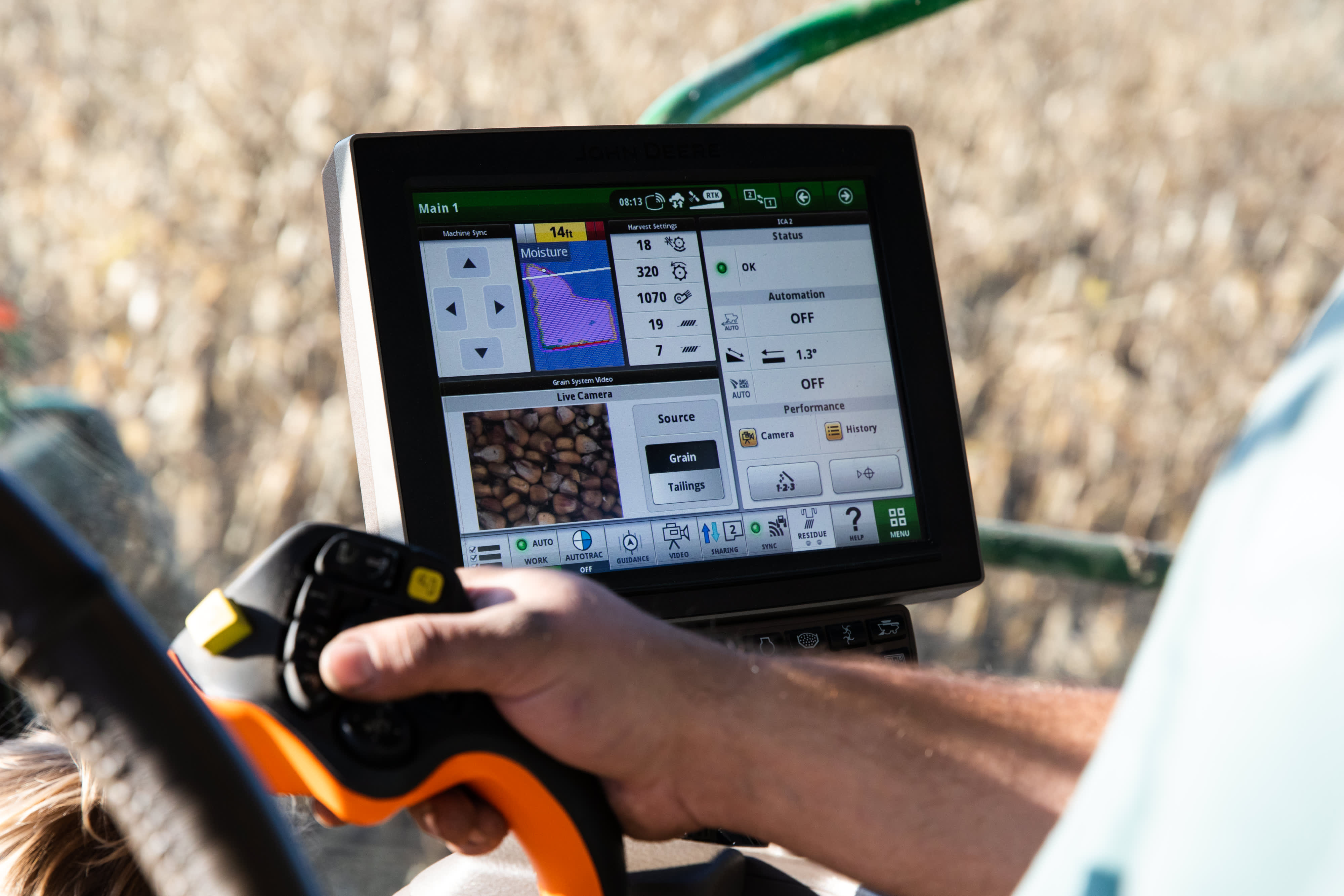 Deere's farm version of facial recognition is coming to fields in 2021