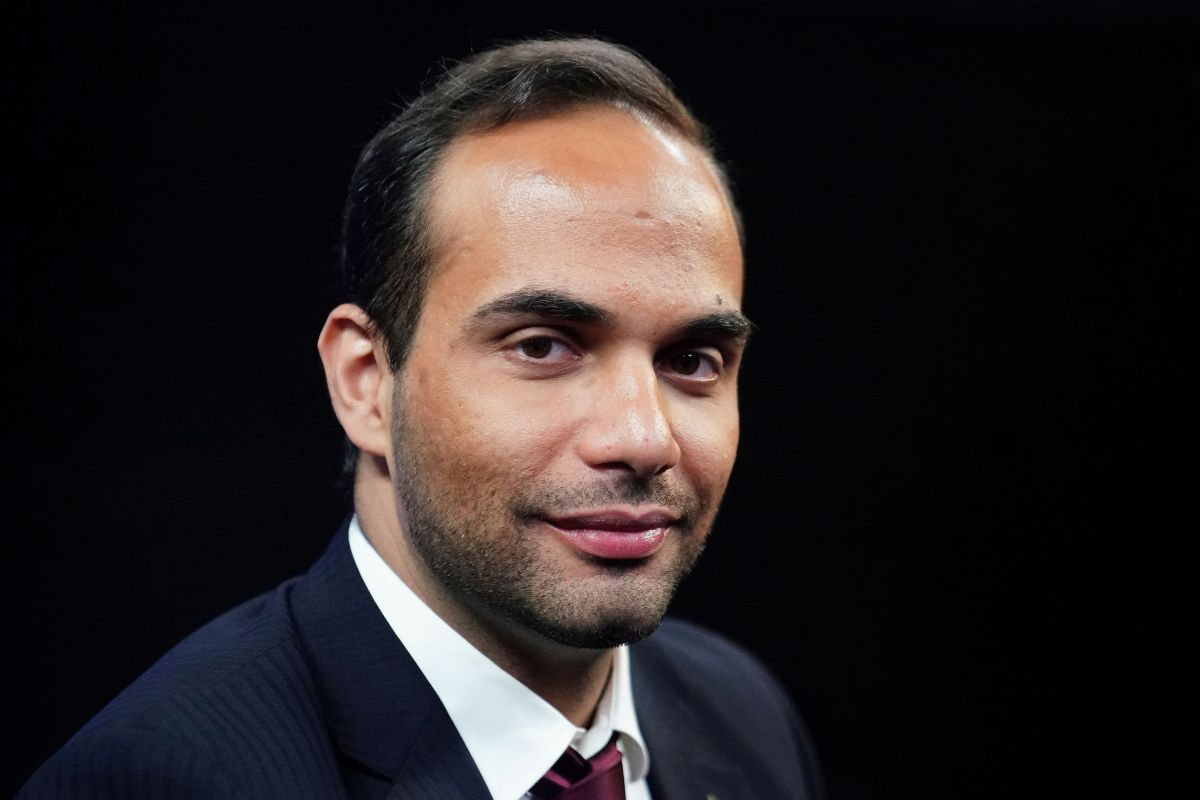 George Papadopoulos, a former member of the foreign policy panel to Donald Trump's 2016 presidential campaign, poses for a photo before a TV interview in New York, New York, U.S., March 26, 2019.