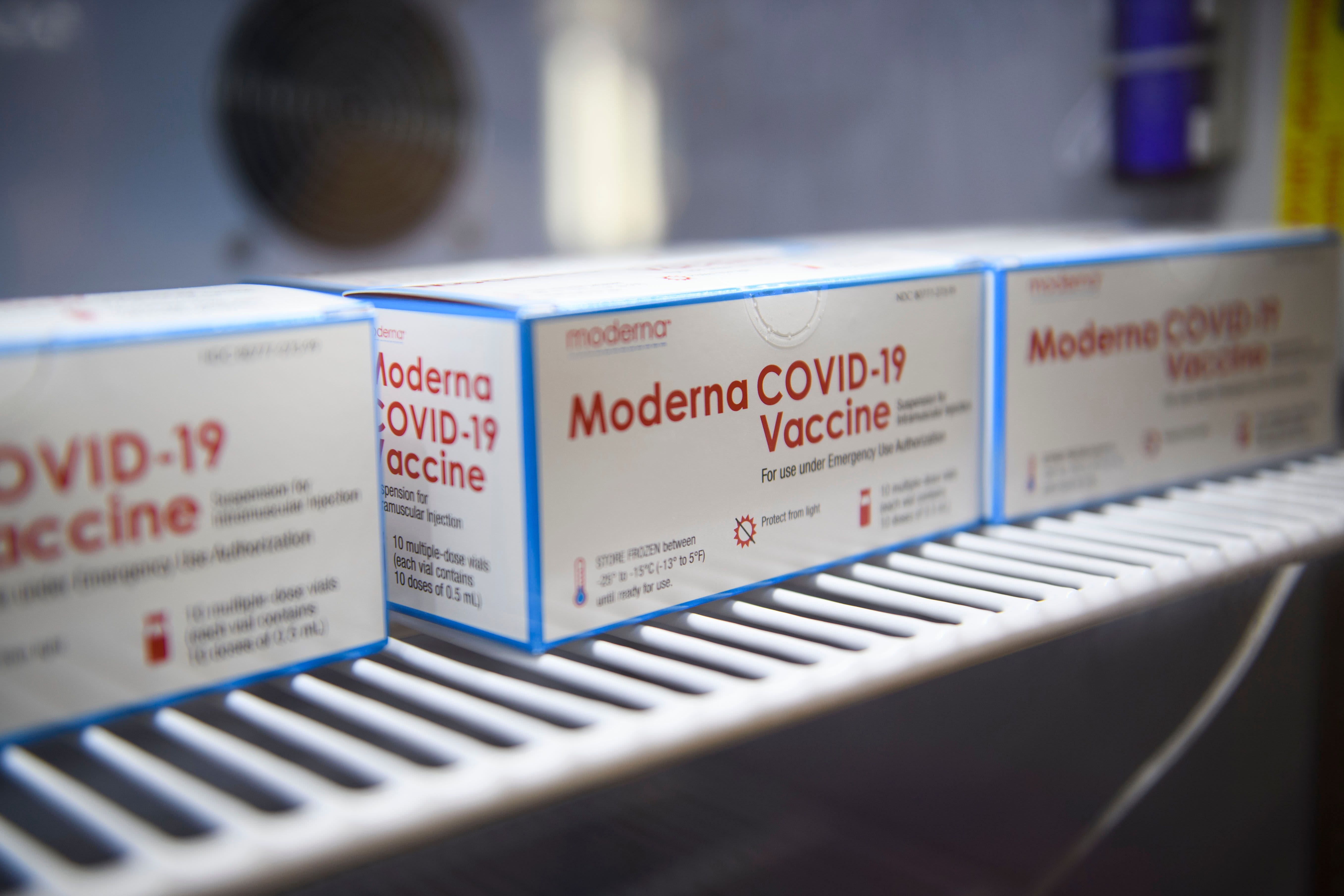 Moderna Covid vaccine can remain stable at refrigerated temperatures for 3 months, company says