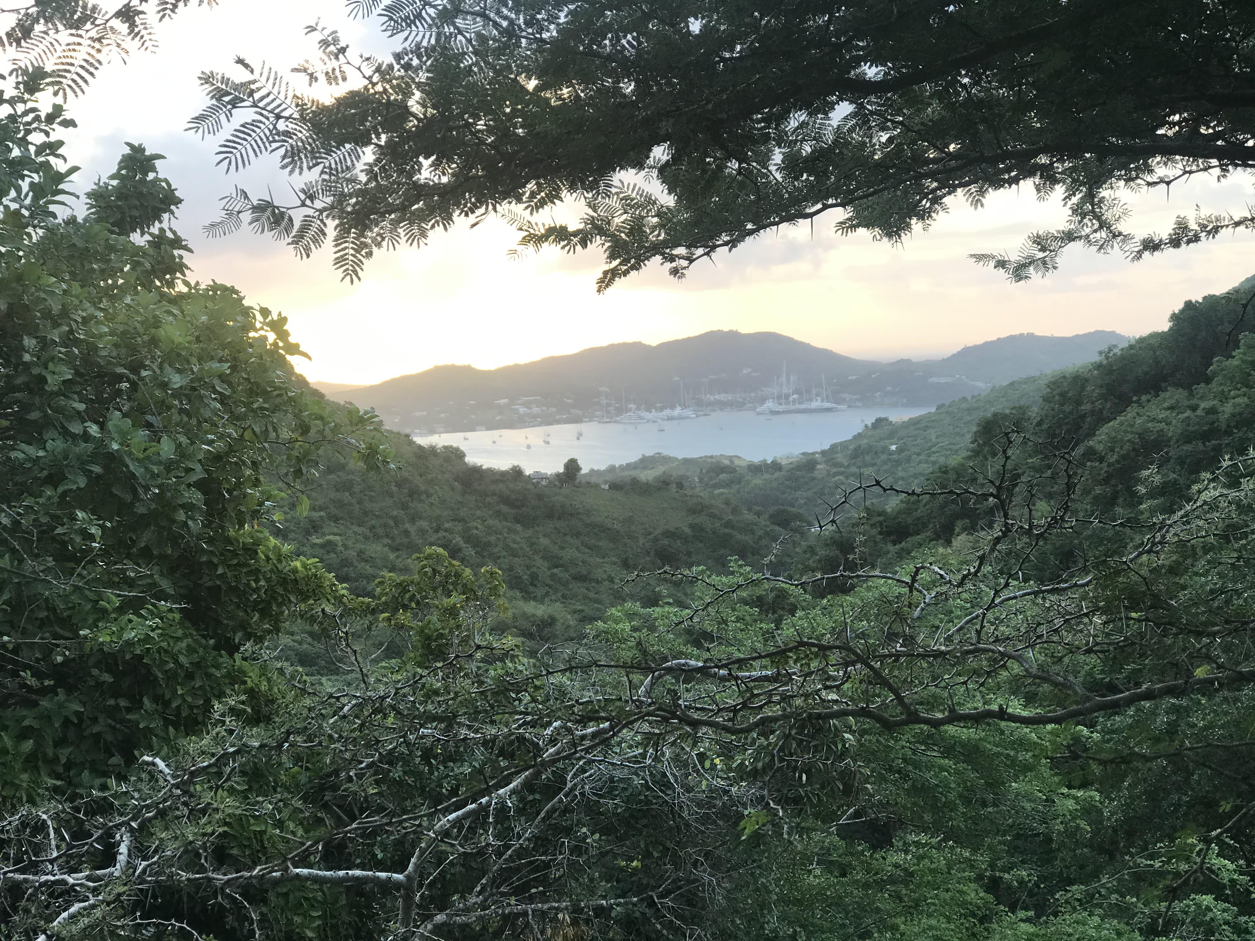 Scenic overlook, Antigua