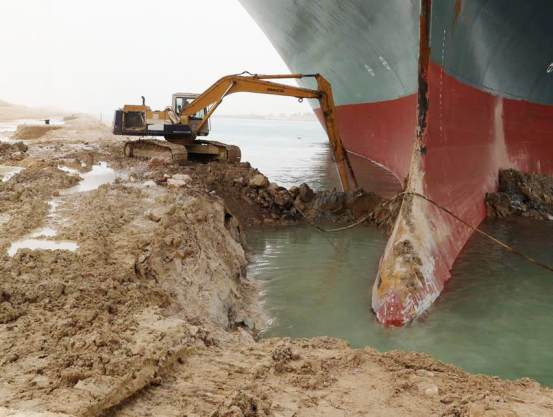 Suez Canal blocked by large ship paralyzes billions in trade