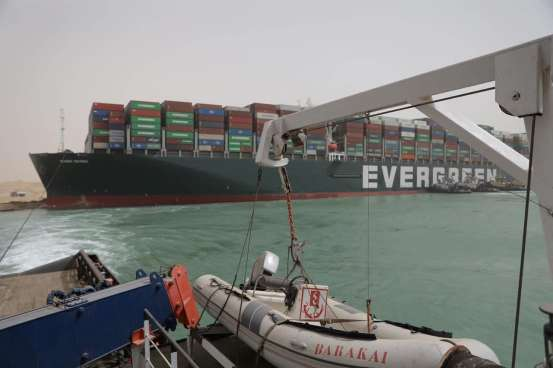 The blockade of the Suez Canal cargo ship could create problems for the world