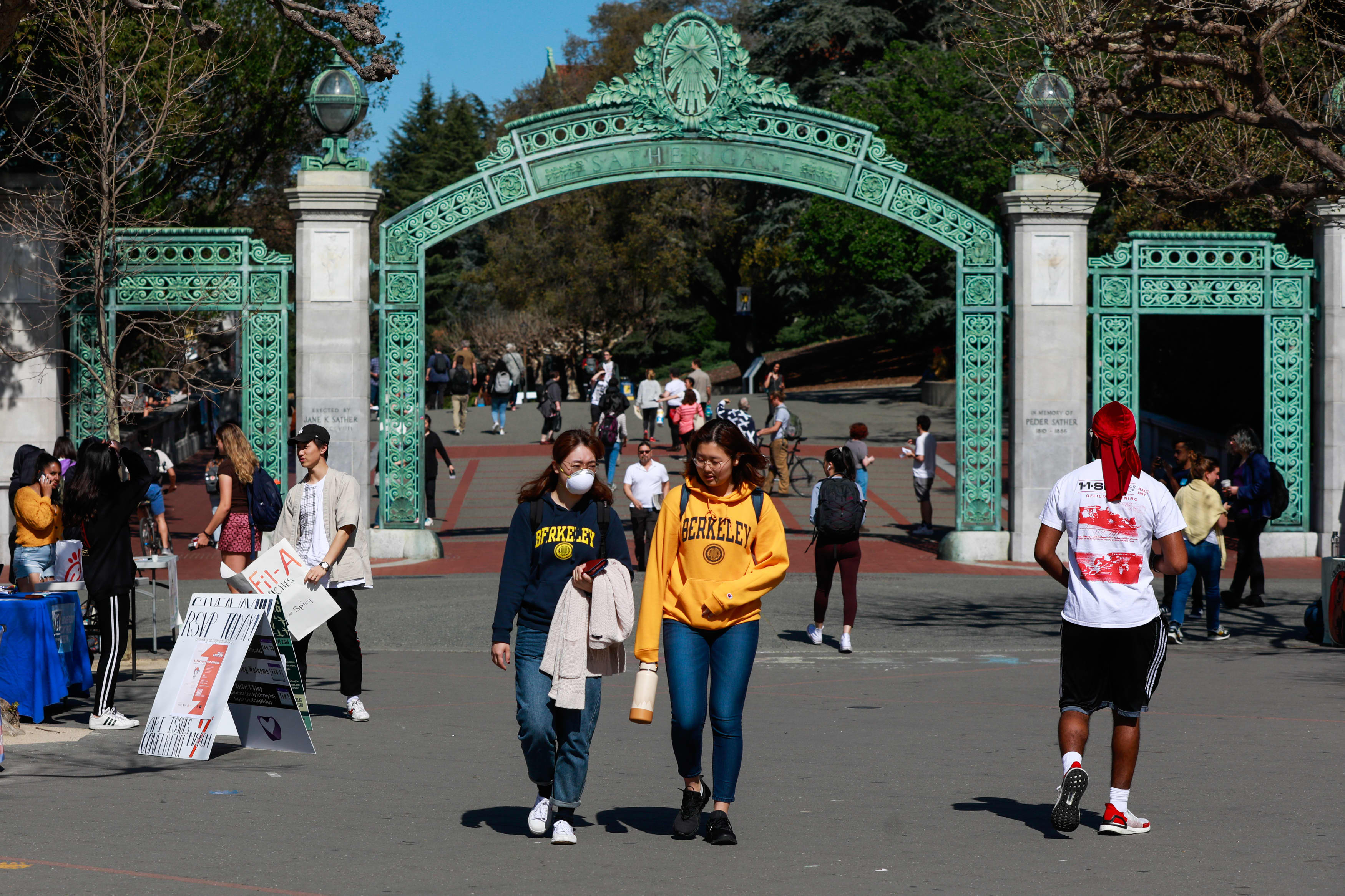 California's Cal State and UC to require Covid vaccinations for the fall semester