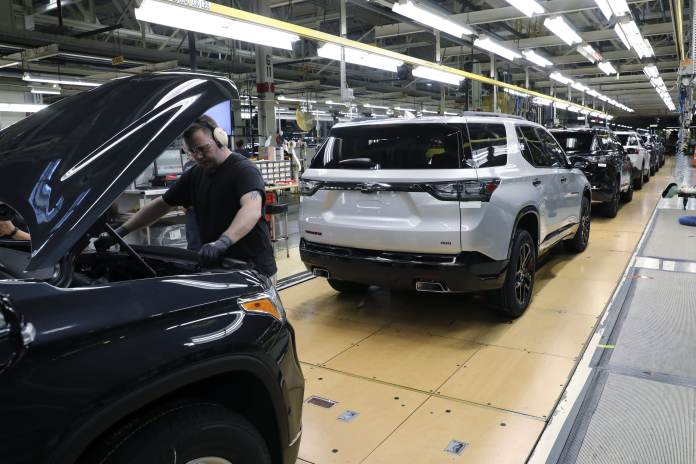 GM doubles impact of chip shortage to 200,000 vehicles in second half of year, maintains guidance