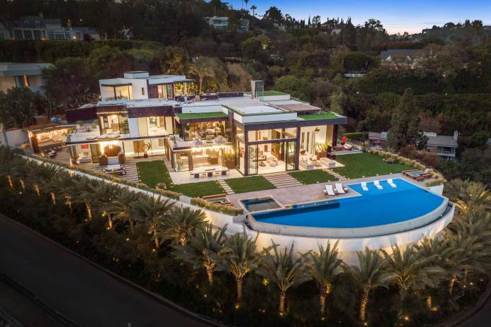 After a dramatic seven-year renovation, an  million mansion hits the market in Bel-Air
