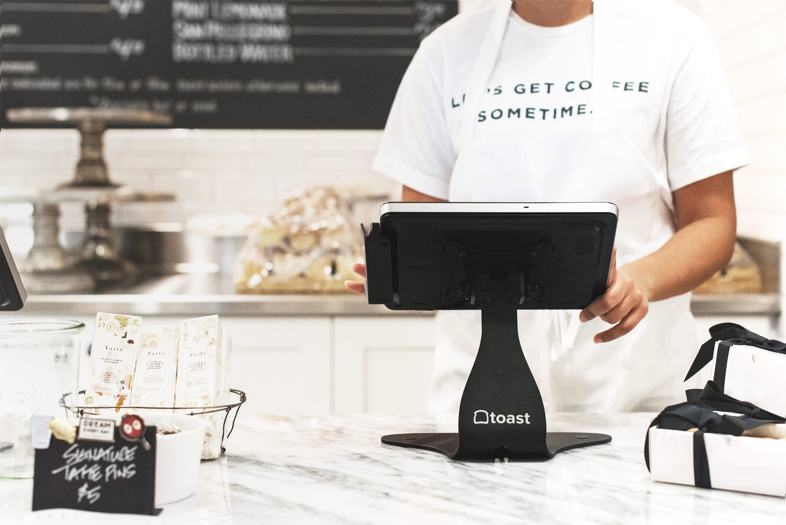 Toast point of sale system