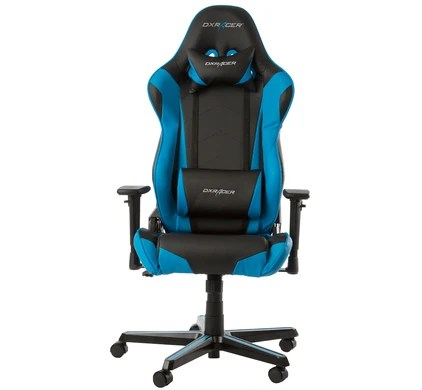 dx racing gaming chair oxo tot sprout racer black blue before 23 59 delivered back