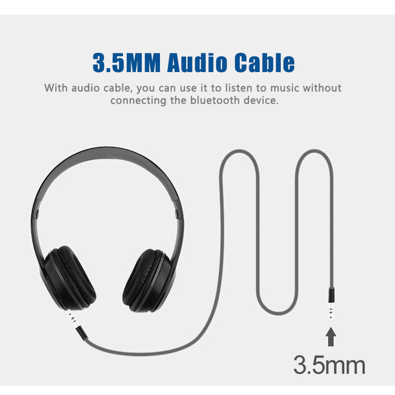 Shop for ZZYD P47 Foldable Wireless Bluetooth Headphone