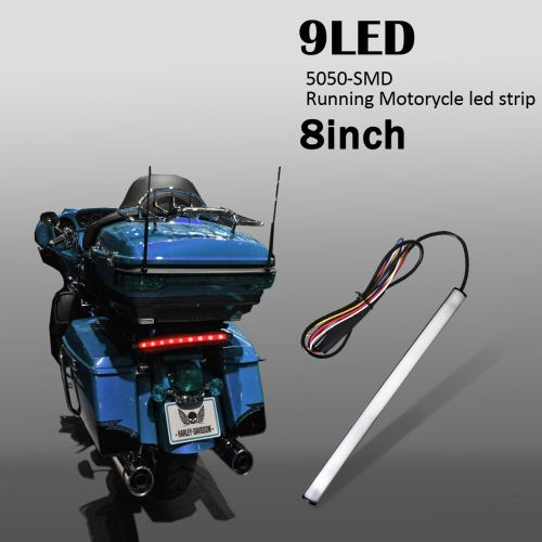 small resolution of 9 led run brake turn strip clean up the tail section of you bike by removing huge turn signals or badly designed original rear brake lights