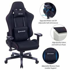 High Quality Office Chairs Ergonomic Bed Room Shop For Von Racer Memory Foam Fabric Gaming Chair Adjustable Lumbar Support And Headrest Back Leather E Sports Racing Computer