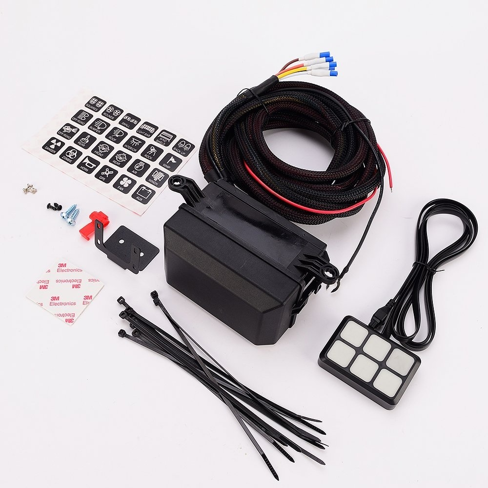 medium resolution of  and interior lights off road lights vehicle accessories package list 1 switch panel 24 stickers 2 screws mounting bracket tape