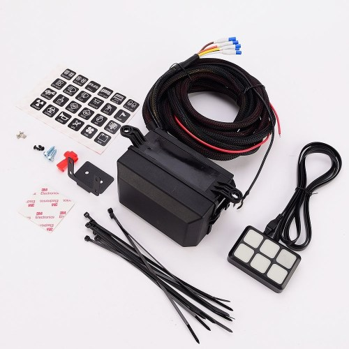 small resolution of  and interior lights off road lights vehicle accessories package list 1 switch panel 24 stickers 2 screws mounting bracket tape